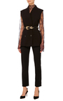 Leather And Stone Waist Belt by ELIE SAAB Now Available on Moda Operandi
