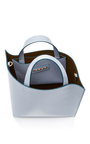 Leather Shopping Bag by MARNI Now Available on Moda Operandi