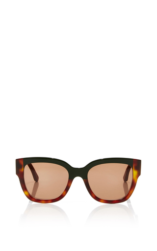 Medium marni black two tone sunglasses