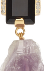 Amethyst Drop Earrings by MARNI Now Available on Moda Operandi