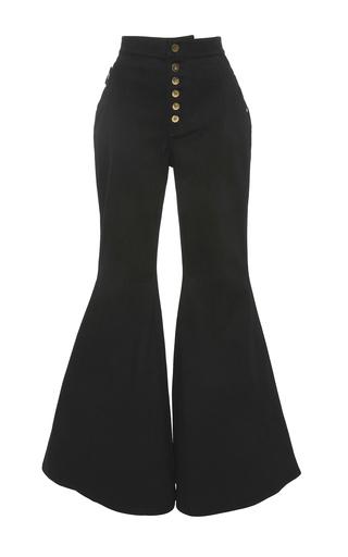 Medium ellery black ellery ophelia wide leg flare pants