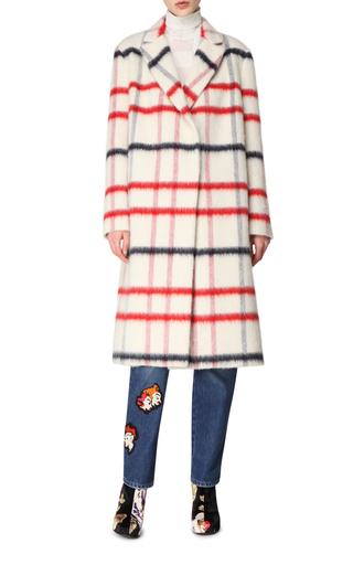 Oversized Wool Coat by MSGM Now Available on Moda Operandi