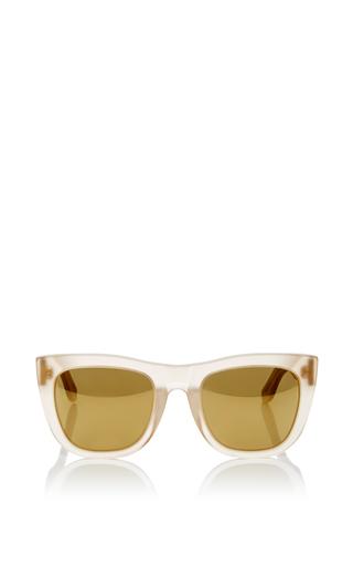 Medium super by retrosuperfuture gold gals oracle sunglasses