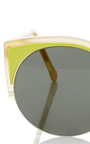 Lucia Surface Lime Sunglasses by SUPER BY RETROSUPERFUTURE Now Available on Moda Operandi