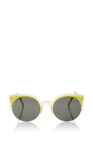 Medium super by retrosuperfuture green lucia surface lime sunglasses
