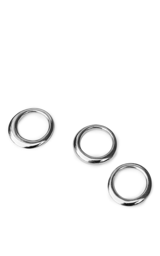 Medium sophie buhai silver stacking rings