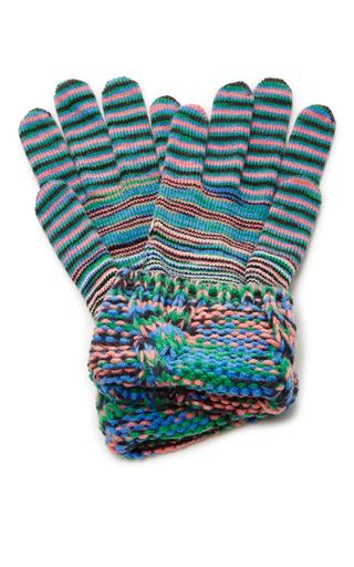 Medium missoni multi striped gloves