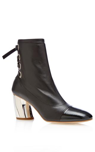 Medium proenza schouler black lace up ankle boot