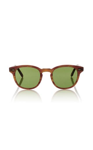 Medium garrett leight brown warren sunglasses