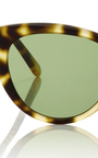 Garrett Leight X Clare Vivier Sunglasses by GARRETT LEIGHT Now Available on Moda Operandi