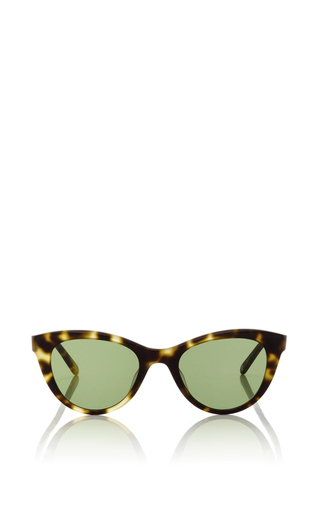 Medium garrett leight brown garrett leight x clare vivier sunglasses