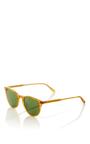 Butterscotch Milwood Sunglasses by GARRETT LEIGHT Now Available on Moda Operandi