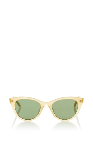 Medium garrett leight brown garrett leight x clare vivier sunglasses 3