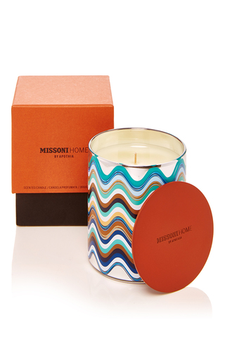 Medium missoni multi mediterraneo candle