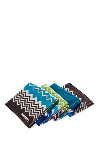 Medium missoni multi rufus blue multicolored beach towel