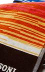 Stanley Orange Multicolored Beach Towel  by MISSONI Now Available on Moda Operandi