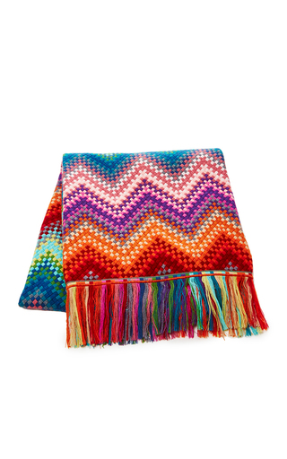 Sandra Multicolored Throw  by MISSONI Now Available on Moda Operandi