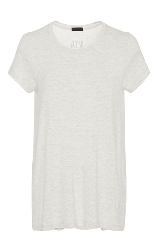 Slub T Shirt  by ATM Now Available on Moda Operandi