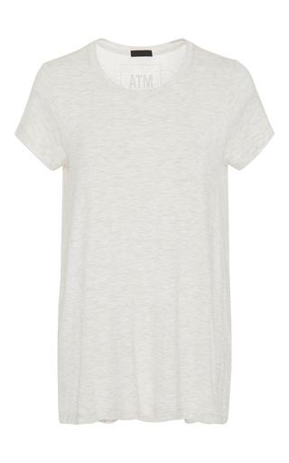 Medium atm dark grey slub t shirt