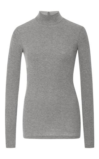 Medium atm light grey long sleeve mock neck t shirt