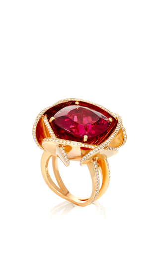 Medium lorenz baumer multi desert rose ring