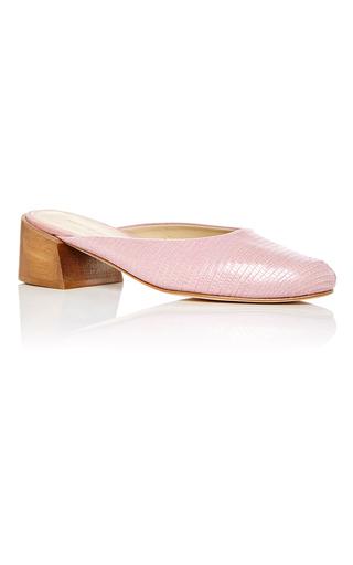 Medium mari giudicelli pink leblon mules  2
