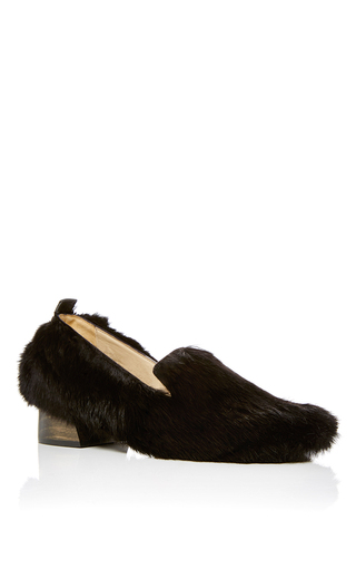 Medium mari giudicelli black gavea loafers  3