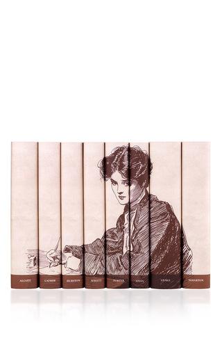 Medium juniper books ivory great american women writers collection