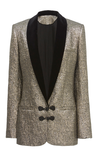Medium racil gold draco gold dust dinner jacket