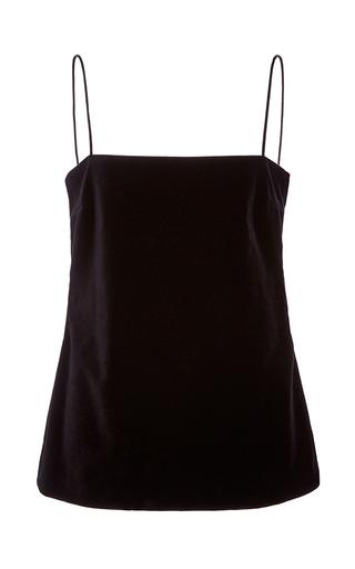 Medium racil black aquarius black velvet top