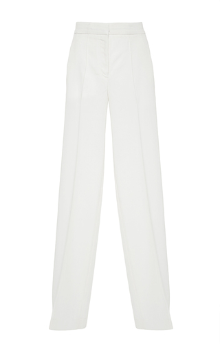 Medium racil white pisces milkyway wool trousers