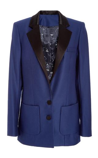 Medium racil blue phoenix midnight wool jacket