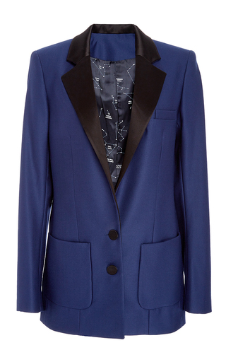 Medium racil blue phoenix midnight wool jacket