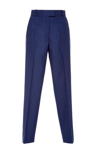 Medium racil blue aries midnight wool trousers
