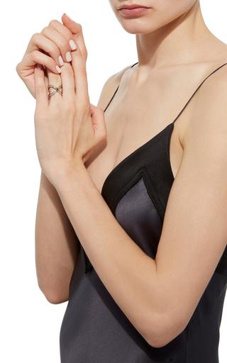 Black And White Diamond Ring by ARA VARTANIAN Now Available on Moda Operandi