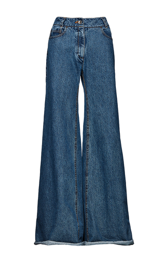Medium magda butrym blue victorville flared jeans