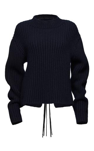 Medium magda butrym navy sudbury ribbed sweater