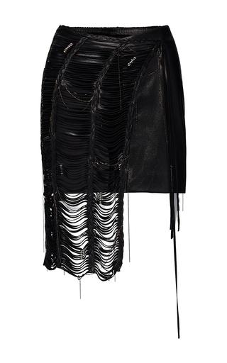 Medium magda butrym black compton cut out mini skirt