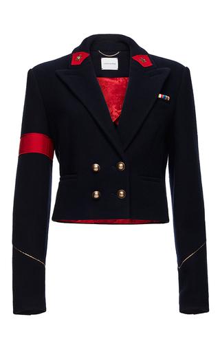 Medium magda butrym navy bonn double breasted jacket
