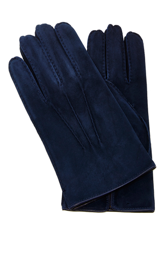 Suede Glove by ARTISANAL MILANO Now Available on Moda Operandi