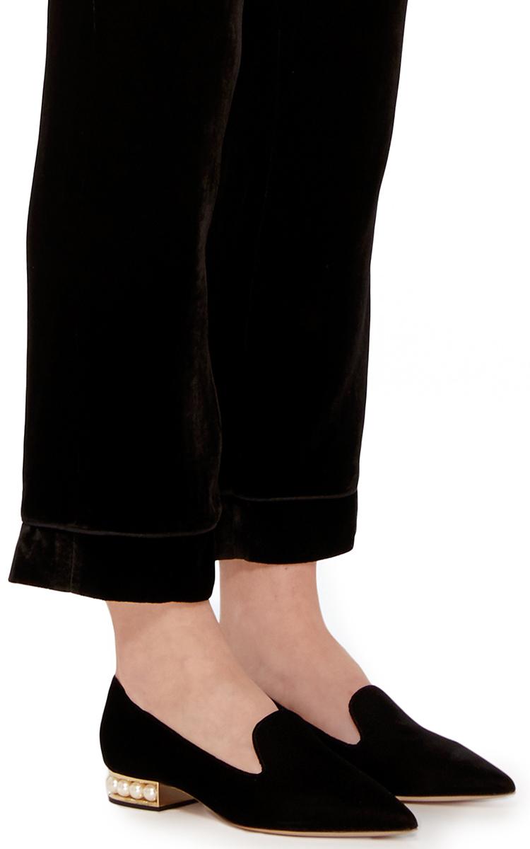Black Casati Pearl Loafers Nicholas Kirkwood XfeiEDe71