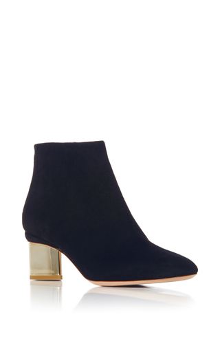 Medium nicholas kirkwood navy prism ankle boot