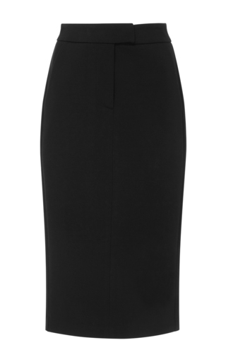 Medium getting back to square one black pencil skirt