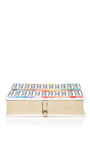 Pastels Square Clutch by OLYMPIA LE-TAN Now Available on Moda Operandi