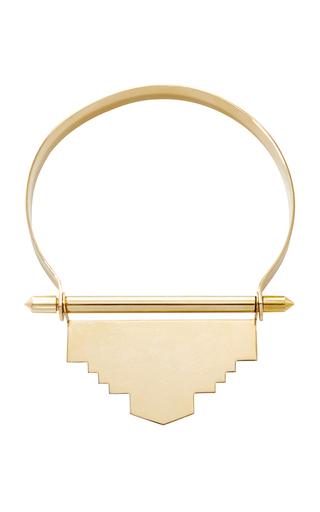 Medium monica sordo metallic tamanaco choker necklace