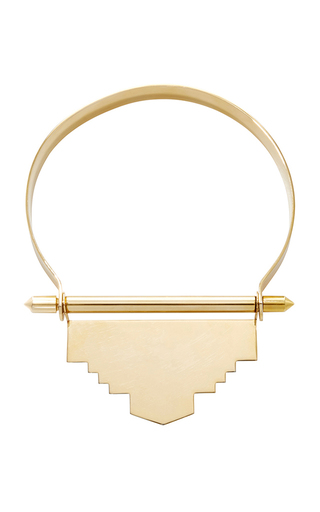 Medium monica sordo metallic tamanaco choker necklace