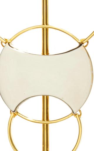 Silencio Convertible Earrings by MONICA SORDO Now Available on Moda Operandi
