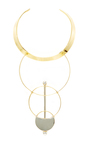 Silencio Convertible Necklace by MONICA SORDO Now Available on Moda Operandi