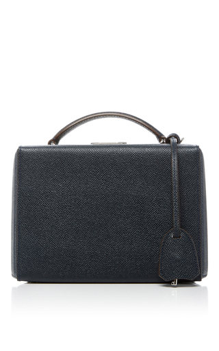 Medium mark cross navy grace small box bag 2