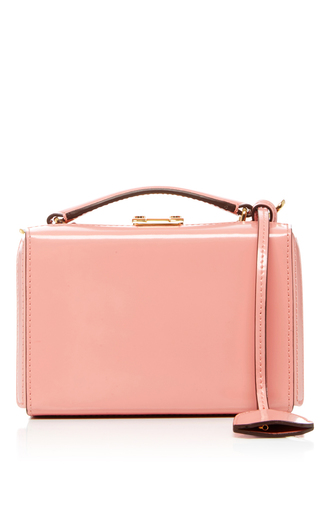 Medium mark cross light pink grace mini box bag